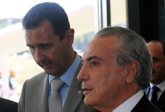 Assessora de Assad se encontrou com Temer